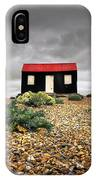 Red Roofed Hut IPhone Case