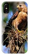 Red-shouldered Hawk IPhone X Case