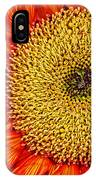 Red Sunflower Iv IPhone Case