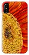Red Sunflower V IPhone Case