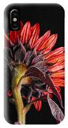 Red Sunflower X IPhone Case