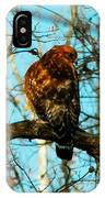 Red Tail Hawk Visitor IPhone Case