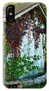Red Vine Shed IPhone Case
