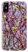 Redbud Sky IPhone Case