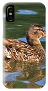 Reflected Duck IPhone Case