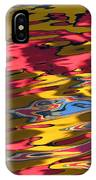 Reflection Abstraction IPhone Case