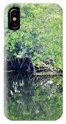 Reflection On The North Fork River IPhone Case