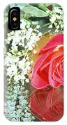 Reflection Red Roses IPhone Case