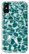 Reflections In A Swimming Pool IPhone Case