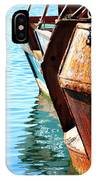 Reflections Of A Rust Bucket IPhone Case