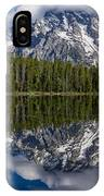 Reflections On String Lake IPhone Case