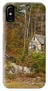 Remote Vermont Cabin IPhone Case