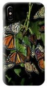 Resting Monarchs IPhone Case