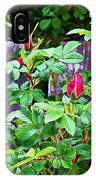Resting Rosebuds Enhanced IPhone Case
