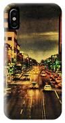 Retro College Avenue IPhone Case