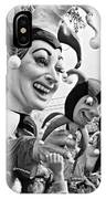Rex Mardi Gras Parade Xi Bw IPhone Case