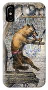 Reynard The Fox, 1846 IPhone Case