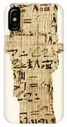 Rhind Papyrus IPhone Case