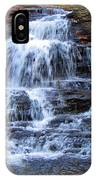Ricketts Glen Waterfall 4075 IPhone Case