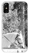 Riding Soldiers B And W IIi IPhone Case