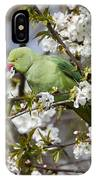 Ring-necked Parakeet IPhone Case