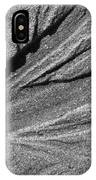 Ripples In The Sand Black And White IPhone Case