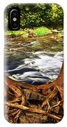 River And Roots IPhone Case