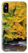River Camcor In The Fall  Co Offaly IPhone Case