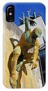 River God Tyne Sculpture IIi IPhone Case