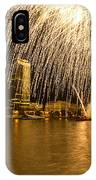 River Thames Fireworks IPhone Case