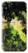 River Through The Trees IPhone Case