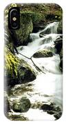 River With Rocks In The Forest IPhone Case