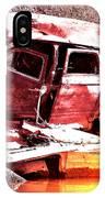 River Wreck Ver2 IPhone Case
