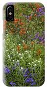 Roadside Flowers, Cascade Mountains, Usa IPhone Case