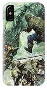 Roald Amundsen's Journey To The South Pole IPhone Case