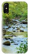 Rock Creek Bed IPhone Case
