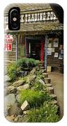 Rock Creeks Trading Post IPhone Case