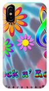 Rock Music Poster IPhone Case