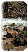 Rock Steps To Glen Alpine Creek IPhone Case