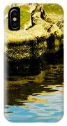 Rocks And Reflections On Ocean IPhone Case