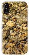 Rocks In Crystal Clear Water IPhone Case