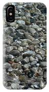 Rocks In Shallow Water IPhone Case