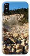 Rocky Fumarole IPhone Case