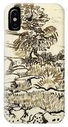 Rocky Ground At Montmajour IPhone Case
