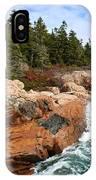 Rocky Maine Coastline. IPhone Case