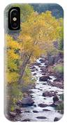 Rocky Mountain Golden Canyon Scenic View IPhone Case