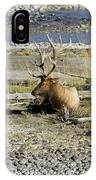Rocky Mountains Elk IPhone Case