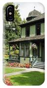 Roedde House Museum Vancouver Canada IPhone Case