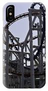 Roller Coaster Rides Inside The Universal Studio Park In Sentosa IPhone Case