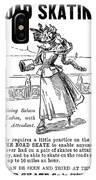 Roller Skates, 1896 IPhone Case